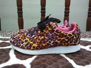 Converse Auckland Racer Leopard not vans adidas nike reebok asics puma crocs new balance saucony girl