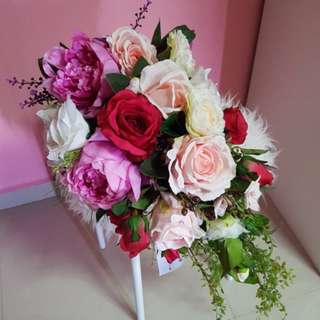 Bridal bouquet (cascading) rental