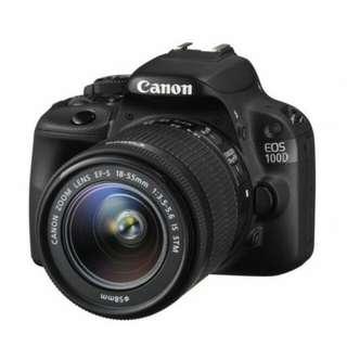 Canon EOS 100D Kit 18-55mm F3.5-5.6 IS STM Kredit bisa
