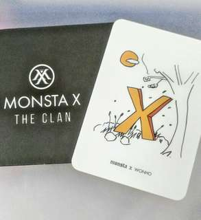 Monsta X WONHO Broadcast Sticker
