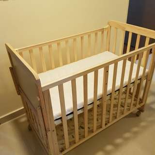Baby Cot (Taobao purchased) almost brand new