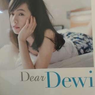 全新 Dear Dewi  寫真書