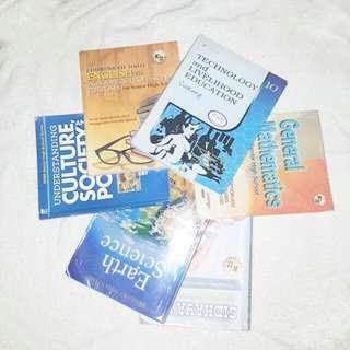 Textbooks and Books