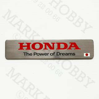 Emblem Honda The Power Of Dreams