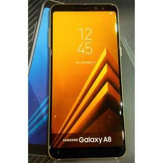 Samsung A8 kredit free PB, OTG, Tongsis dan Ringstand