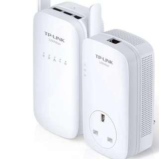 TP-LINK電力線交流WiFi套件1200giga bit