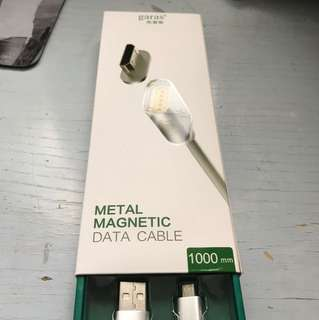 Metal magnetic cable