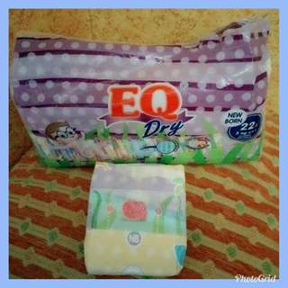 👶EQ dry diapers ( new born)
