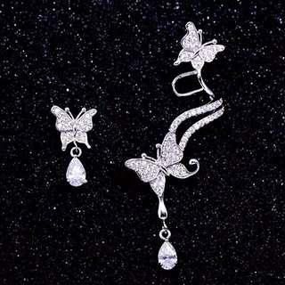 Stunning Silver earrings!💎s925