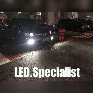 Honda Civic LED Fog and reverse light