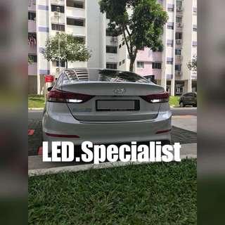 Hyundai Elantra LED Reverse