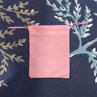 Brand new Pink velvet pouches