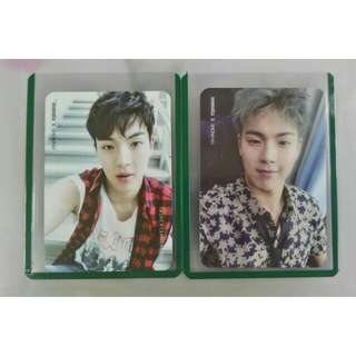 Monsta X SHOWNU ( various photocard )