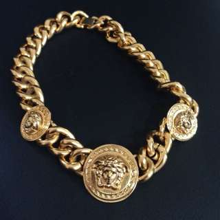 Versace 3D Medusa necklace