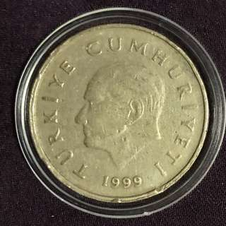1999年土耳其硬幣