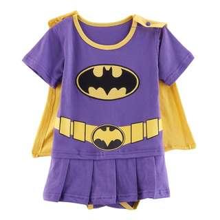 Batgirl Baby girl romper