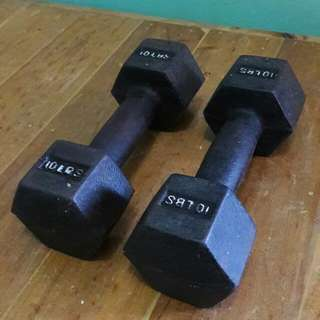 Dumbbell 10 Lbs Repriced!
