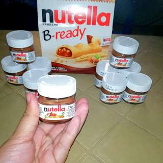 Ferrero Nutella and bread. Ready for meet up