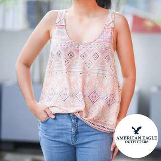 American Eagle Outfitters loose sleeveless top