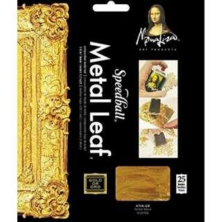 Gold Leaf 23 karat gold, non edible, art & craft, painting, decorative, decorating