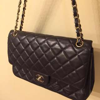 Chanel  2.55 flag quilted bag