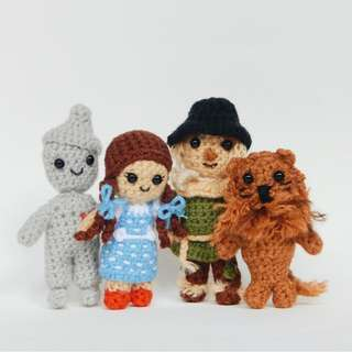 Crochet wizard of oz collection