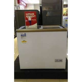 Freezer RSA Sliding flat glass kredit tanpa DP
