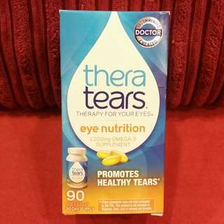 thera tears eye nutrition 1200mg OMEGA - 3 SUPPLEMENT