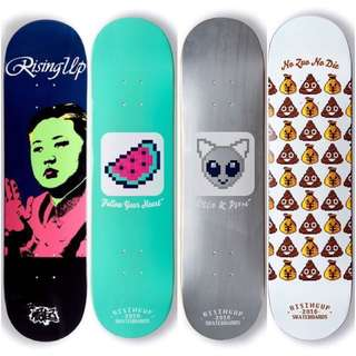 risingup skateboards整組 7.8~8.25