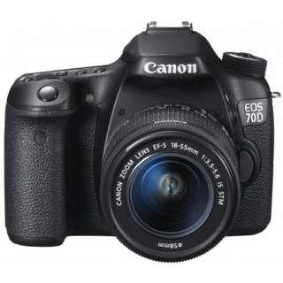 Canon EOS 70DL 18-55mm STM WIFI Kredit mudah
