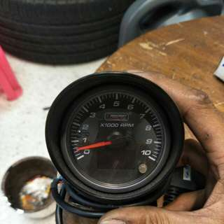 Prosport rpm gauge by OBD2