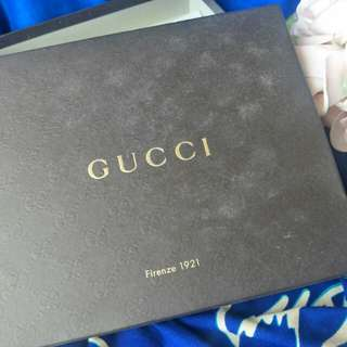 GUCCI WALLET BOX