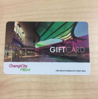 Changi City Point Fraser Mall Card