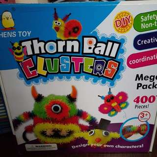 Thorn Ball Clusters