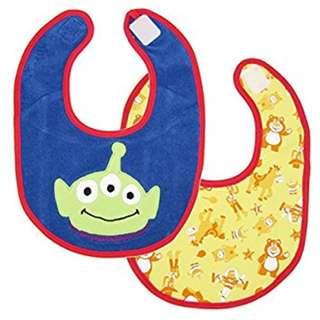 正版日版🈹各款Disney 雙面口水巾 $48