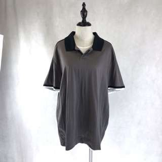 (MEN) Calvin Klein Grey Polo *COMPANY SAMPLE