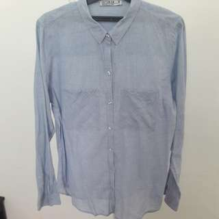 Blouse Baby Blue COTTON ON