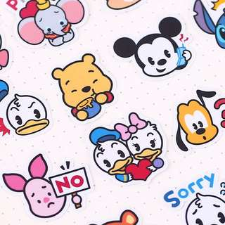 ⏰ Planner Stickers — Tsum Tsum Stickers (Characters / Cartoon)