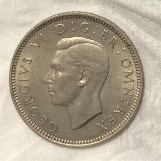 1947年英國硬幣