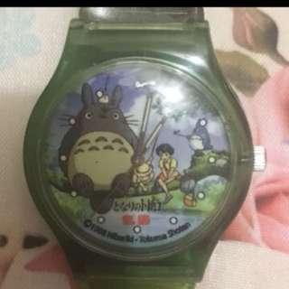 龍貓手錶(2002宮崎駿與地鐡合作)限量3000