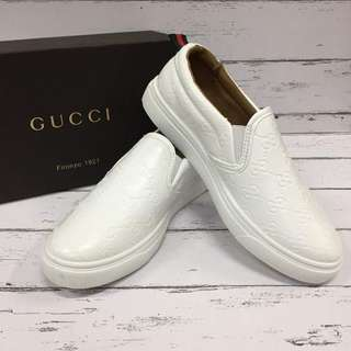 Gucci Leather Slip-on