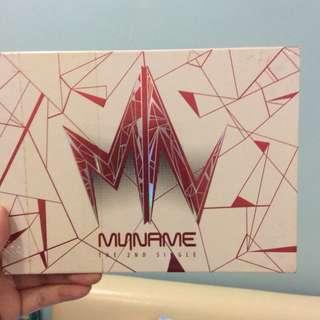 MYNAME THE 2nd Single Album