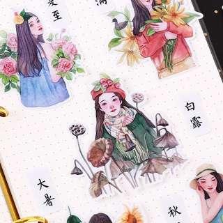 ⏰ Planner Stickers — Season Girl / Model / Girl Figures / Beauty