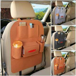 BN Car Organiser (dark brown & black)