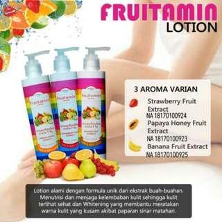Lotion fruitamin