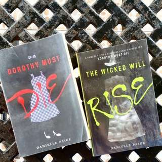 Dorothy Must Die Series (First two books)