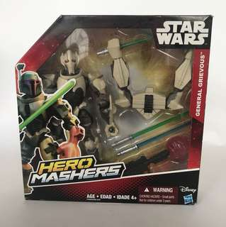 Star Wars General Grievous Hero Mashers