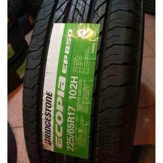 225/65/17 普利司通 EP850 靜音節能休旅車輪胎 年終舒適安裝價 私訊-400洽詢優惠價