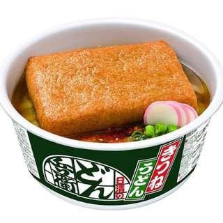 日清のどん兵衛 油豆腐烏冬杯麵