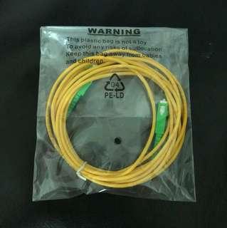 3m Fibre Optic Patch Cord
